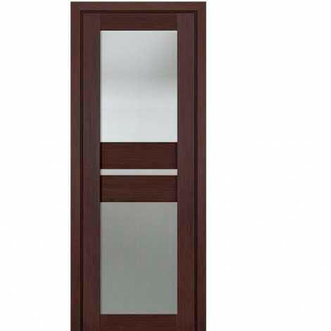 МЕЖКОМНАТНАЯ ДВЕРЬ PROFIL DOORS 70x матовое стекло Венге Мелинга