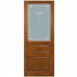 Дверь из массива сосны ПМЦ ДО 5 Коньяк