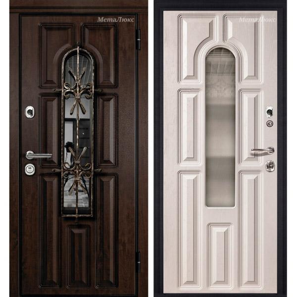 Стальная дверь МетаЛюкс М60/2
