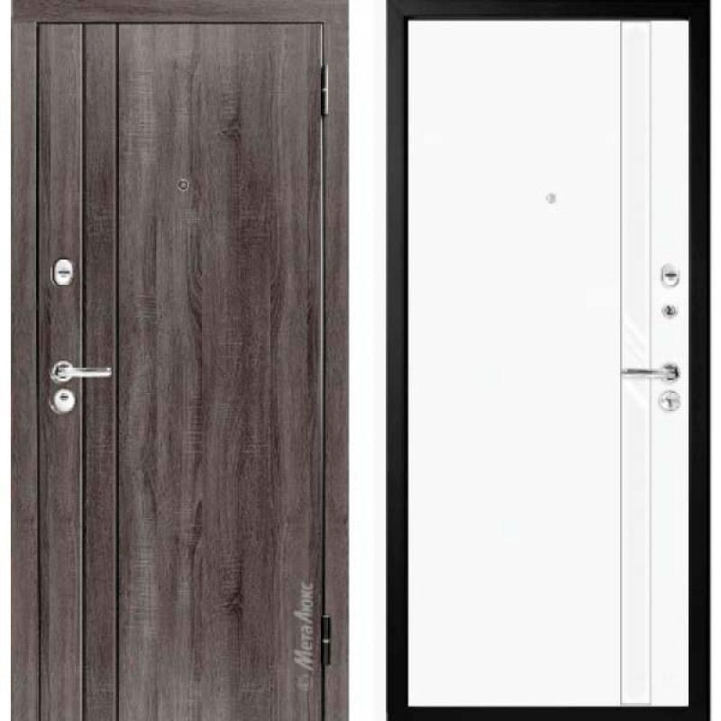 Дверь входная металлическая МетаЛюкс М33/6