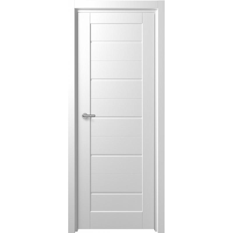 Межкомнатная дверь F-1 ПГ  : Белый