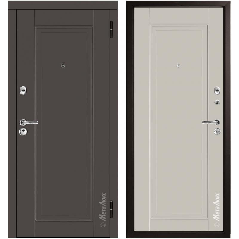 Дверь входная металлическая МетаЛюкс М59/3