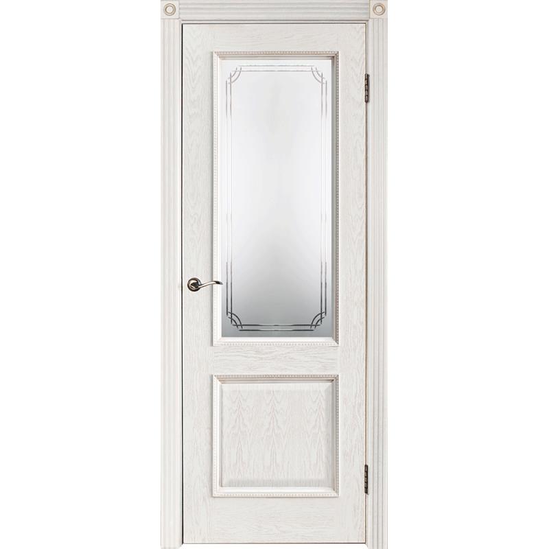 Межкомнатная дверь шпонированная Шервуд 3 ДО, Эмаль