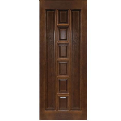 Межкомнатная дверь из массива сосны ПМЦ ДГ М11 Темный лак