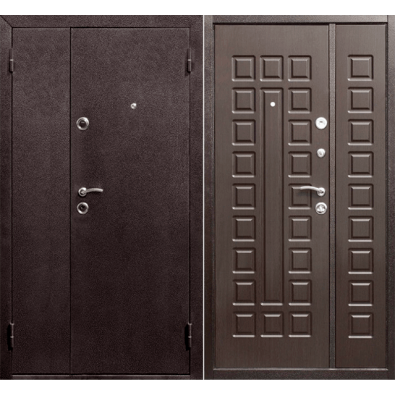Дверь Йошкар Венге, 2 створки