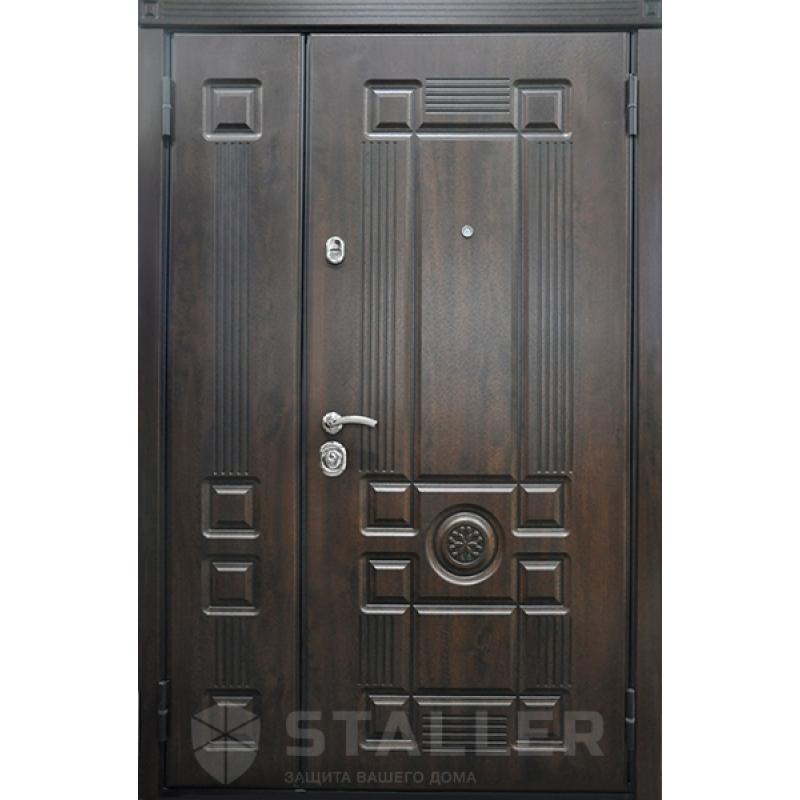 Дверь входная Рим двухстворчатая (Юркас)