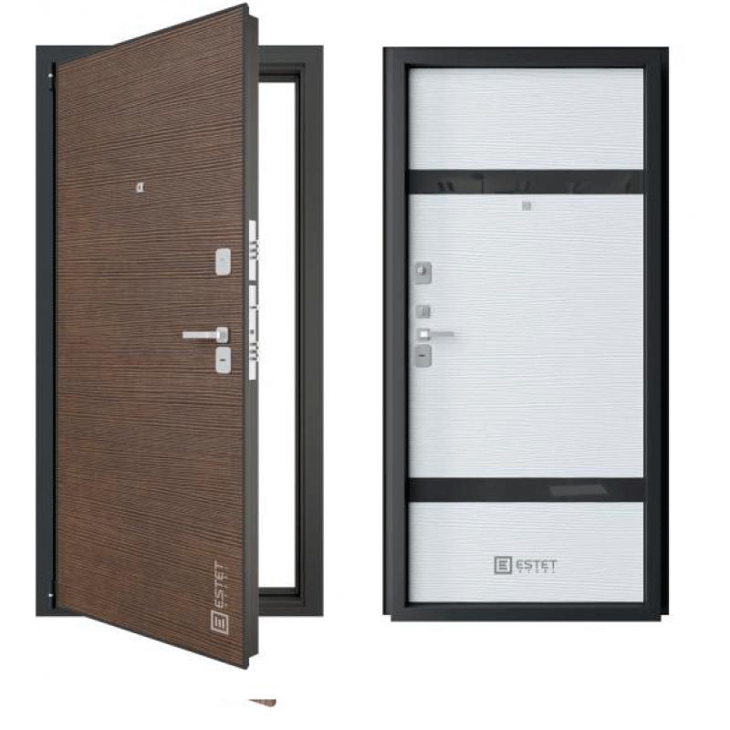 Входная дверь Эстет модель Бизнес 5