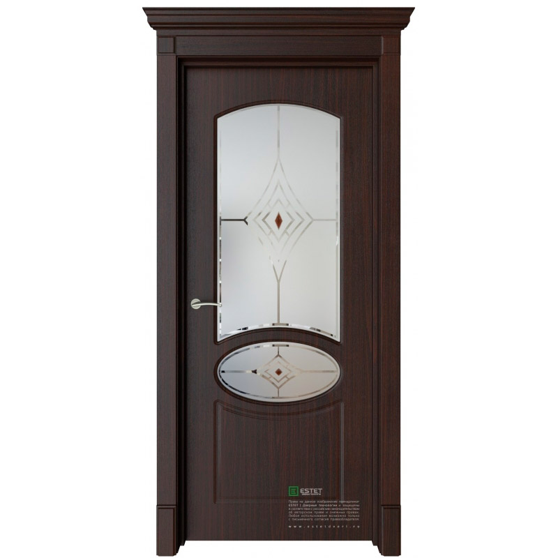 Межкомнатная дверь ESTET Каролина