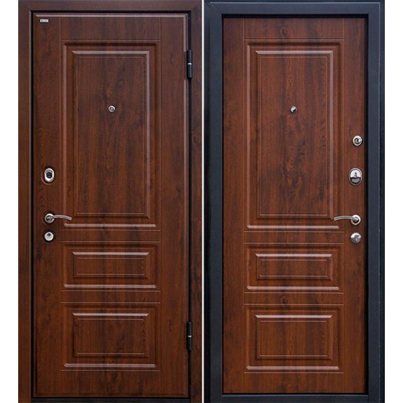 Дверь входная МеталЮр М11 (тёмный орех)
