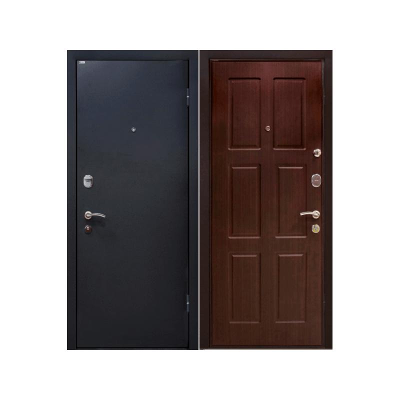 Дверь входная МеталЮр М21 каштан