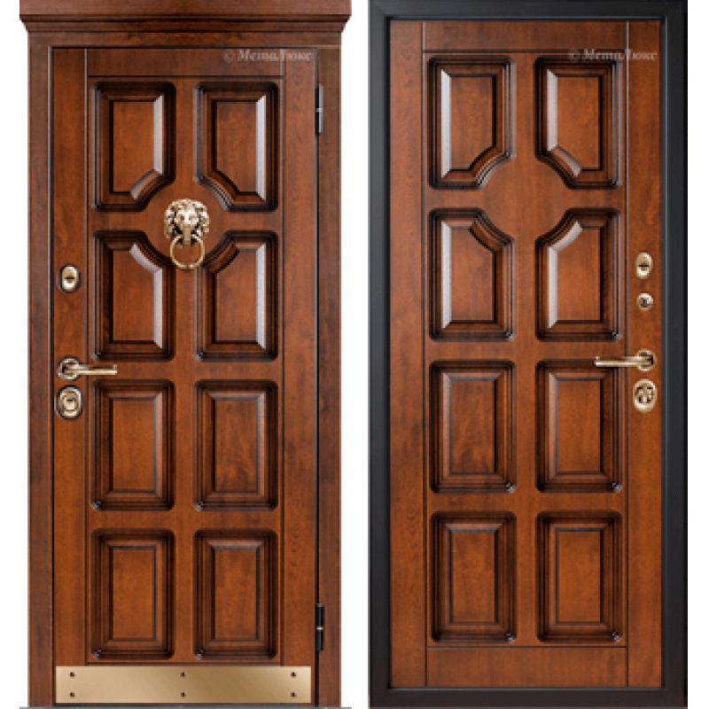 """Входная дверь """"МетаЛюкс""""  М707/3 СТАТУС"""