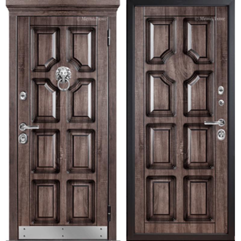 Входная дверь МетаЛюкс М707/4 СТАТУС