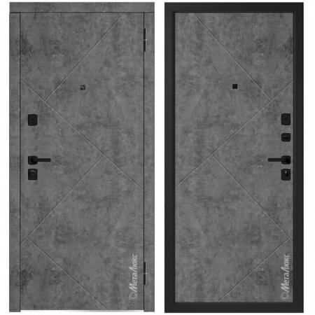 Входная дверь МетаЛюкс М746/12 СТАТУС