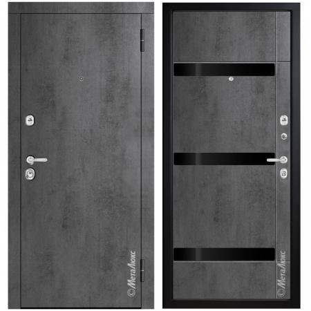Входная дверь МетаЛюкс М771/2 СТАТУС