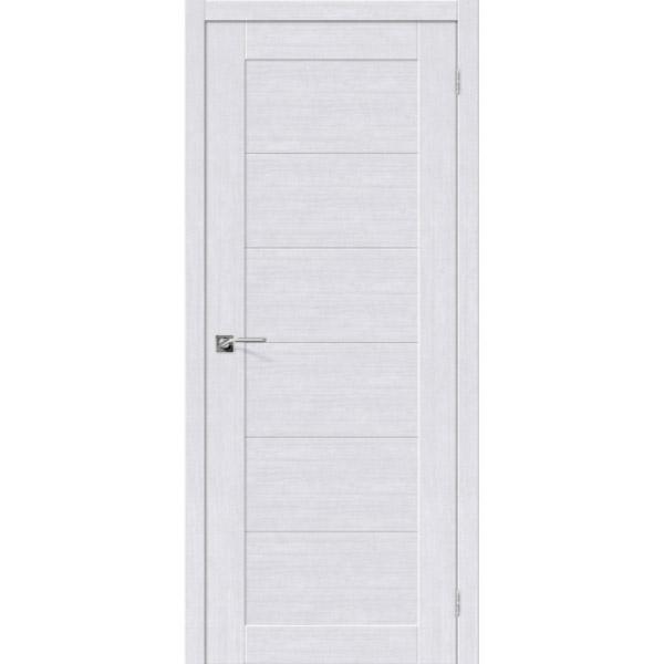 Дверь межкомнатная Евро шпон Эльпорта Легно 21 Milk Oak Elporta Legno