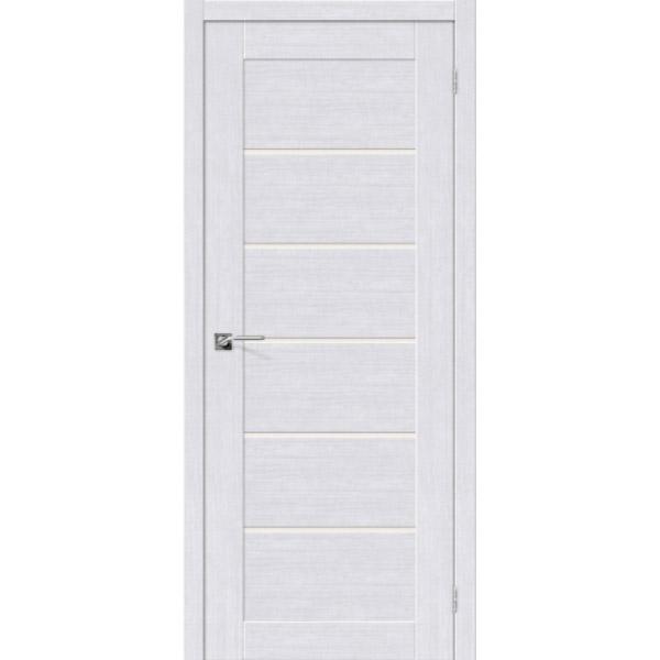 Дверь межкомнатная Евро шпон Эльпорта Легно 22 Milk Oak Elporta Legno