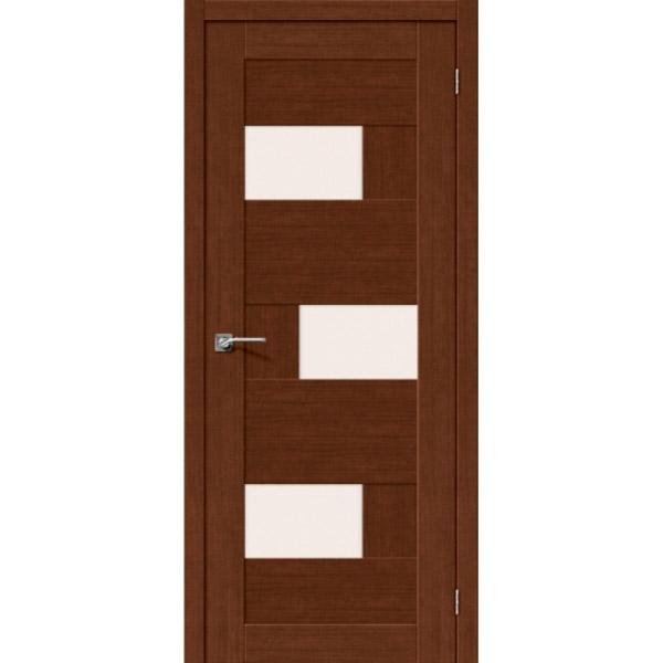 Дверь межкомнатная Евро шпон Эльпорта Легно 39 Brown Oak  Elporta Legno