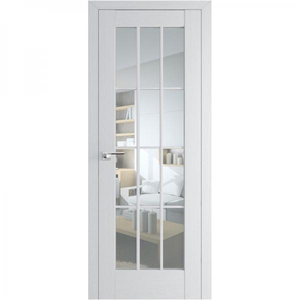 МЕЖКОМНАТНАЯ ДВЕРЬ PROFIL DOORS 102x (стекло узор) Пекан белый