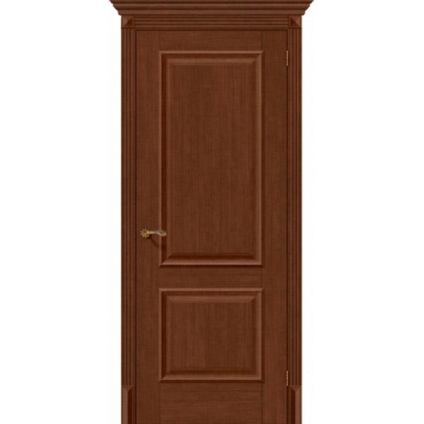 Дверь межкомнатная Евро шпон Эльпорта КЛАССИКО 12 Brown Oak Elporta Classico