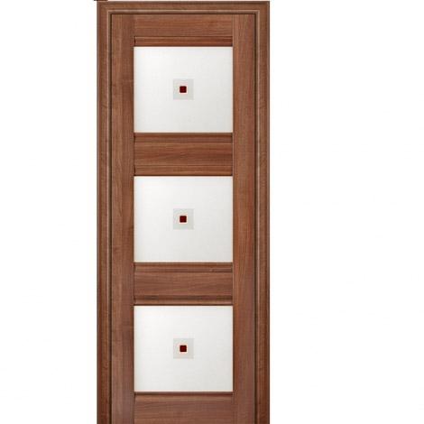 МЕЖКОМНАТНАЯ ДВЕРЬ PROFIL DOORS 4x (стекло узор) Орех Сиена