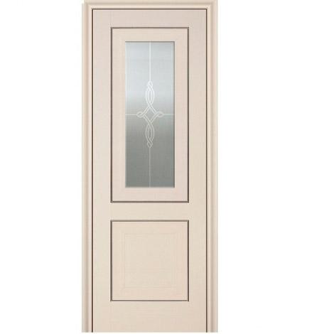 МЕЖКОМНАТНАЯ ДВЕРЬ PROFIL DOORS 28x (стекло узор) Эшвайт