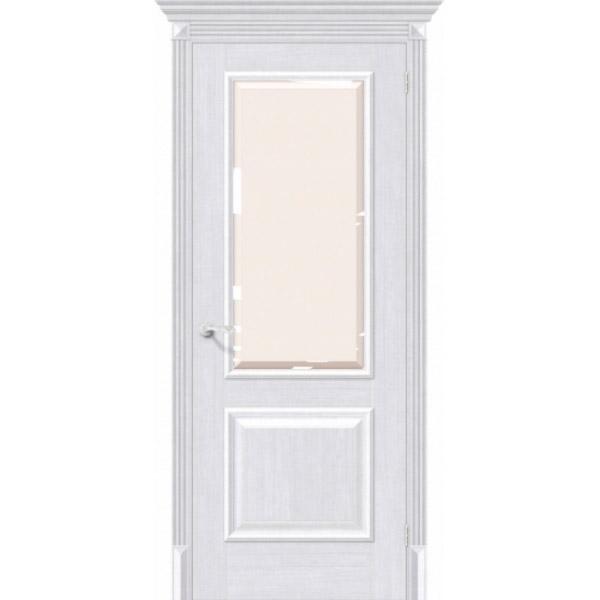 Дверь межкомнатная Евро шпон Эльпорта КЛАССИКО 13 Milk Oak Elporta Classico