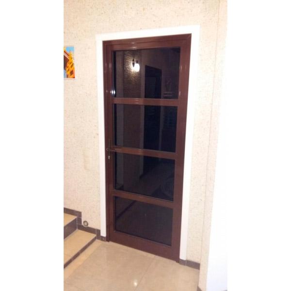 Алюминиевые дымонепроницаемые двери