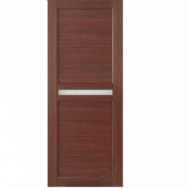 Межкомнатные двери МДФ, «Ладора» экошпон серия «Квадро 2/4» Дуб тёмный