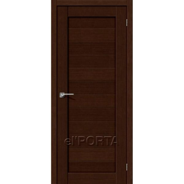 Дверь межкомнатная экошпон Эльпорта Порта 21 3D Wenge Elporta Porta X