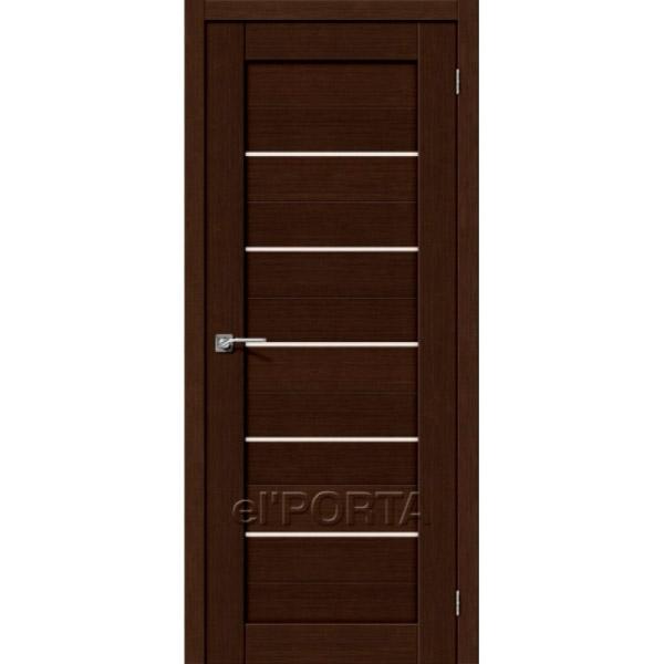 Дверь межкомнатная экошпон Эльпорта Порта 22 3D Wenge Elporta Porta X