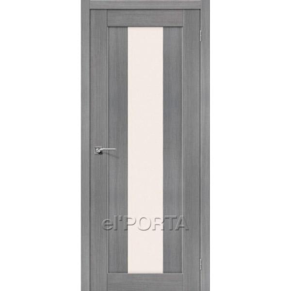 Дверь межкомнатная экошпон Эльпорта Порта 25 3D Grey Elporta Porta X