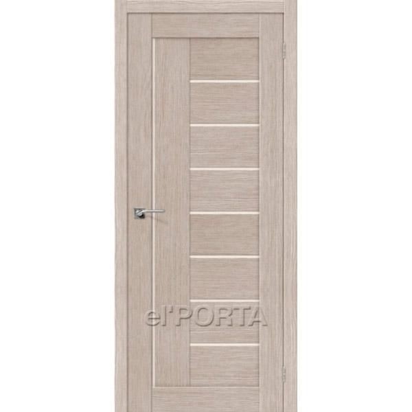 Дверь межкомнатная экошпон Эльпорта Порта 29 3D Cappuccino Elporta Porta X