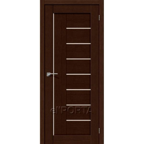 Дверь межкомнатная экошпон Эльпорта Порта 29 3D Wenge Elporta Porta X