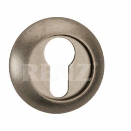 Накладка круглая на цилиндр RENZ  ET (N) 08 MAB Античная бронза матовая