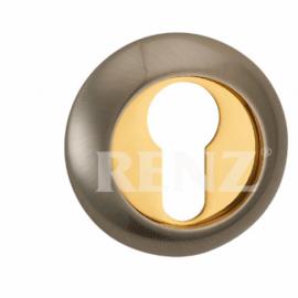 Накладка круглая на цилиндр RENZ ET (N) 08 MAС Античная медь матовая