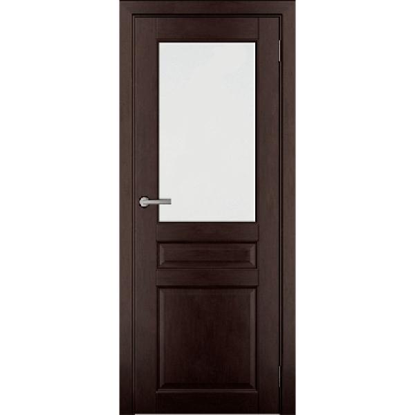 Дверь массив Ольхи Дорвуд  Бостон ЧО Венге