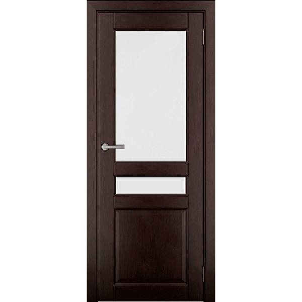 Дверь массив Ольхи Дорвуд  Бостон ДО Венге