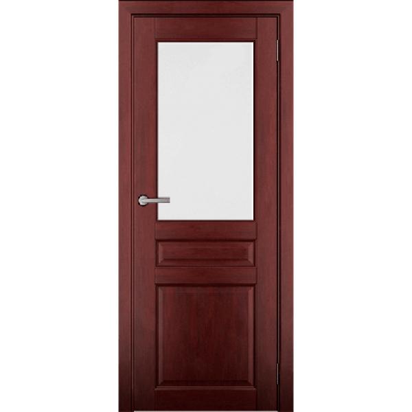 Дверь массив Ольхи Дорвуд  Бостон ЧО Махагон