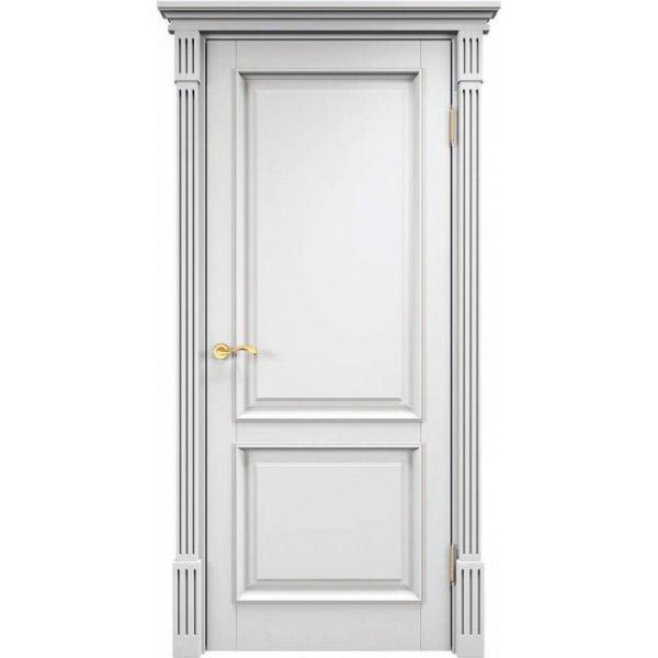 Межкомнатная дверь из массива сосны ПМЦ Ш112 Белая эмаль