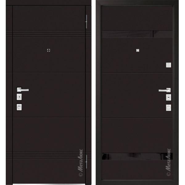 Дверь входная металлическая  «Металюкс» М1301 Милано