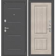 Дверь входная ЭльПОРТА Porta S 104.К32 Антик Серебро/Cappuccino Veralinga