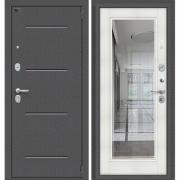 Дверь входная ЭльПОРТА Porta S 104.П61 Антик Серебро/Bianco Veralinga