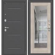 Дверь входная ЭльПОРТА Porta S 104.П61 Антик Серебро/Cappuccino Veralinga