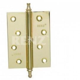 Петля дверная RENZ универсальная декоративная RENZ 100x75x2 FH AB Бронза античная