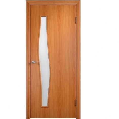 Межкомнатная дверь МДФ ламинированная Verda ПО С10 Миланский орех
