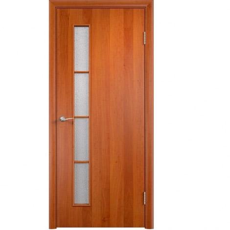 Межкомнатная дверь МДФ ламинированная Verda ПО С14 Груша