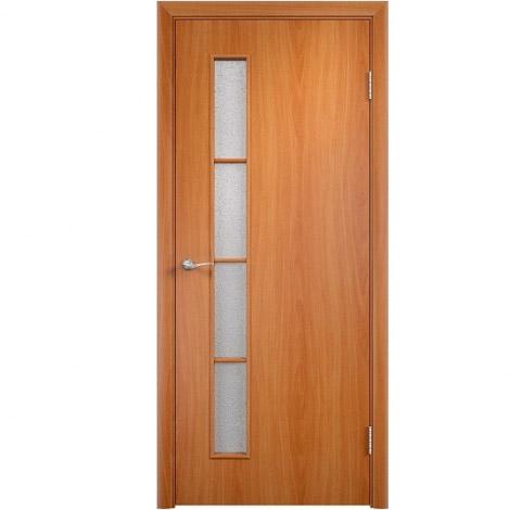 Межкомнатная дверь МДФ ламинированная Verda ПО С14 Миланский орех