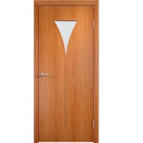 Межкомнатная дверь МДФ ламинированная Verda ПО С4 Миланский орех