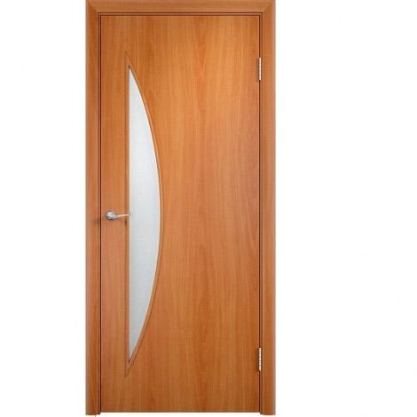 Межкомнатная дверь МДФ ламинированная Verda ПО С6 Миланский орех