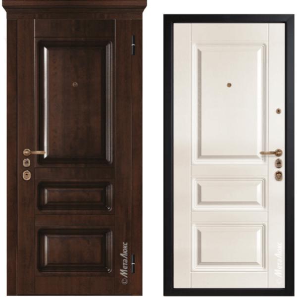 Дверь входная металлическая Металюкс М1005/1 Милано